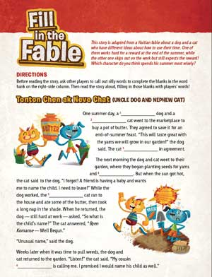 activity-fable