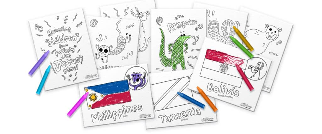 I'm a Compassion Explorer – Free printable Coloring Book